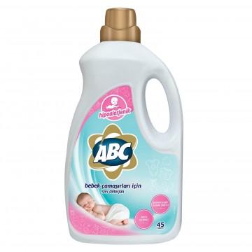 ABC Bebek Çamaşırları için Sıvı Deterjan 45 Yıkama 2700 ml