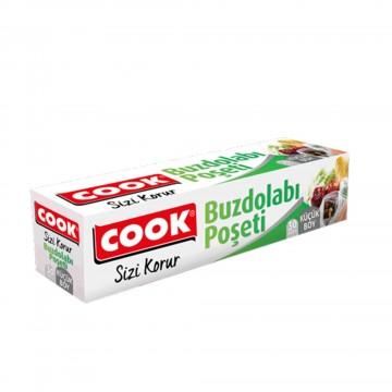 Cook Buzdolabı Poşeti Küçük Boy 20 x 30 cm 30 Adet