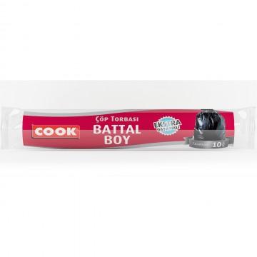 Cook Ekstra Kalın Çöp Torbası Battal Boy 72 x 95 cm