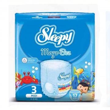 Sleepy Mayo Bez 3 Beden 4-9 kg 17 Adet