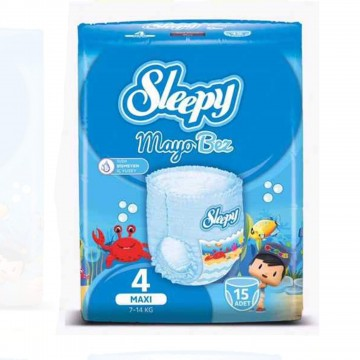 Sleepy Mayo Bez 4 Beden 7-14 kg 15 Adet