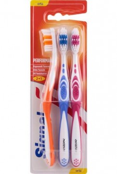 Signal Performance Diş Fırçası Orta 2+1 Diş Fırçası