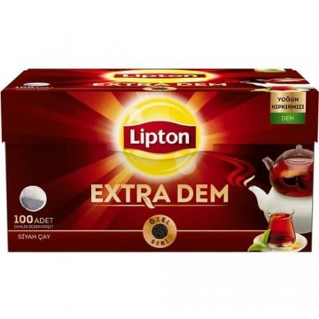 Lipton Extra Dem Demlik Süzen Poşet Çay 100 Adet 320 Gr