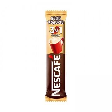 Nescafe 3 ü 1 Arada Sütlü Köpüklü