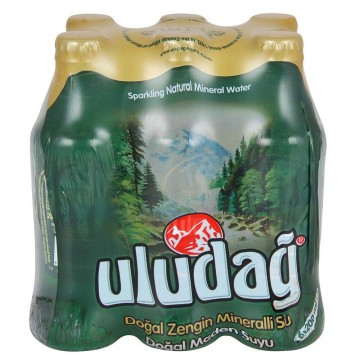 Uludağ Soda Sade 200x6 ml