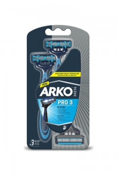 Arko Tıraş Bıçağı T3 Pro 3 Adet