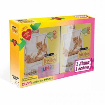 Friskies Tavuklu Sütlü Ve Sebzeli Yavru Kedi Maması 300 Gr * 2 Adet