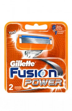 Gillette Fusion Power Yedek Tıraş Bıçağı 2 Adet