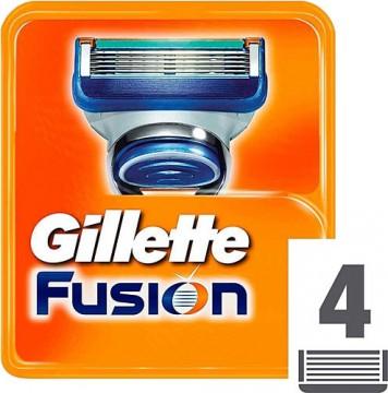 Gillette Fusion Yedek Tıraş Bıçağı 4 Adet
