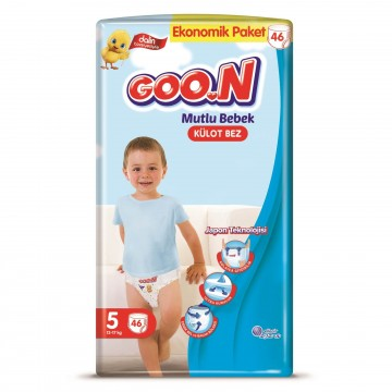 Goon Mutlu Bebek Külot Bez 5 Numara Junior 46 Adet