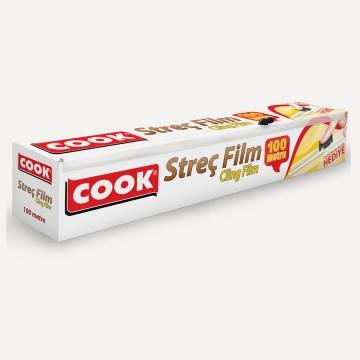 Cook Kayar Bıçaklı Streç Film 30 cm x 100 Metre