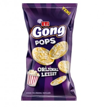 Eti Gong Pops Sade 80 Gr