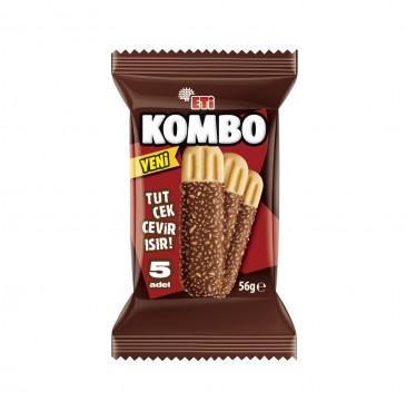 Eti Kombo Çikolata Kaplı Bisküvi 56 Gr