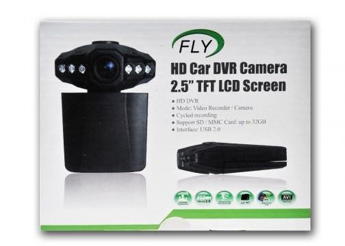 Fly BQ-H198 Araç Kamerası (32 GB SD Hafıza Kart Desteği)