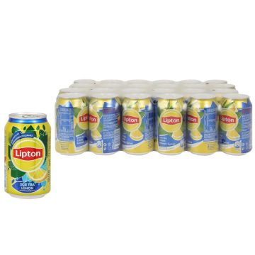 Lipton Ice Tea Limon 330 ml x 24 Adet
