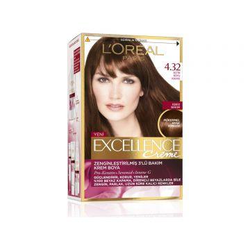 Loreal Paris Excellence Creme Saç Boyası 4.32 Altın Koyu Kahve
