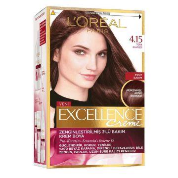 Loreal Paris Excellence Creme Saç Boyası 4.15 Türk Kahvesi