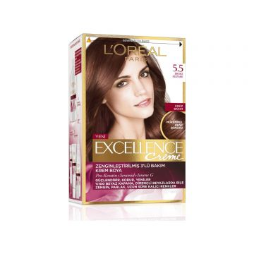 Loreal Paris Excellence Creme Saç Boyası 5.5 Bronz Kestane