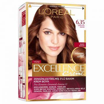 Loreal Paris Excellence Creme Saç Boyası 6.35 Çikolata Kahve