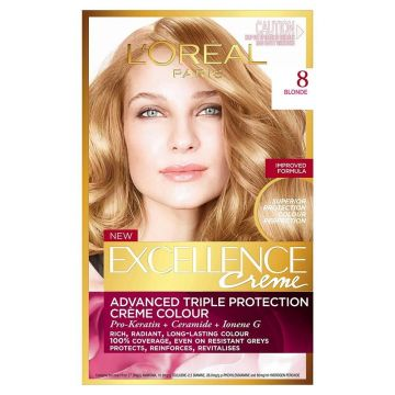 Loreal Paris Excellence Creme Saç Boyası 8 Koyu Sarı