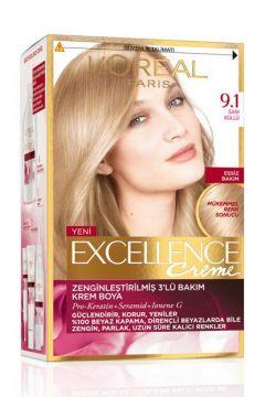 Loreal Paris Excellence Creme Saç Boyası 9.1 Küllü Sarı