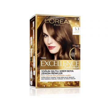 Loreal Paris Excellence Intense Saç Boyası 5.3 Sıcak Çikolata