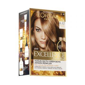 Loreal Paris Excellence Intense Saç Boyası 6.32 Karamel Kahve