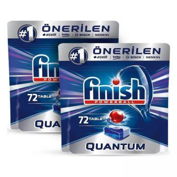 Finish Quantum 144 Tablet Bulaşık Makinesi Deterjanı (72x2)