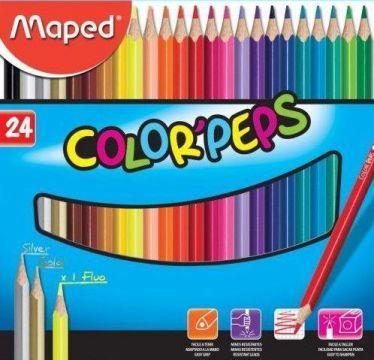 Maped 18322410 Color Peps Kuru Boya 24 Renk