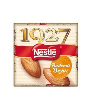 Nestle 1927 Bademli Beyaz Kare Çikolata 65 Gr