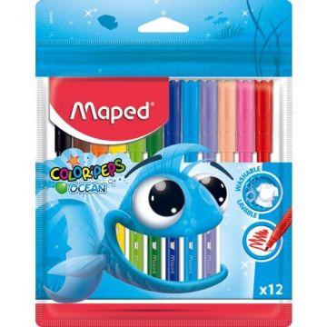 Maped 845720 Color Peps Ocean Keçeli 12 Renk