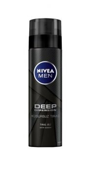 Nivea Deep Men Kusursuz Tıraş Jeli 200 Ml