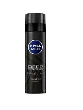 Nivea Deep Men Kusursuz Tıraş Köpüğü 200 Ml