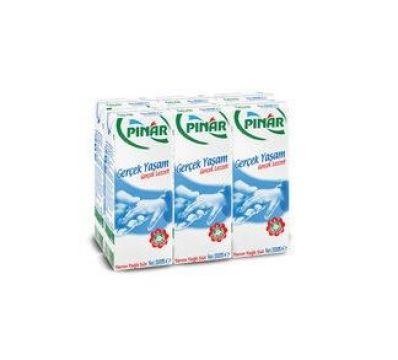 Pınar Süt Yarım Yağlı 200 Ml x 6 Adet