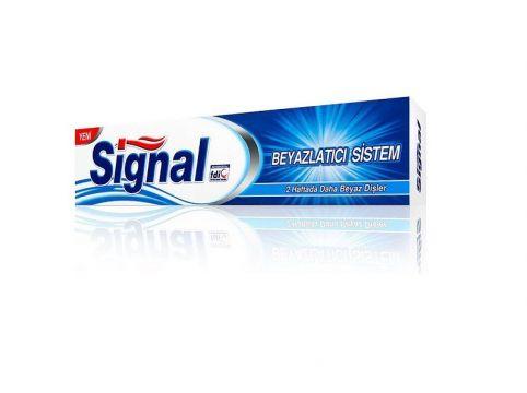 Signal Diş Macunu Beyazlatıcı Sistem 125 Ml