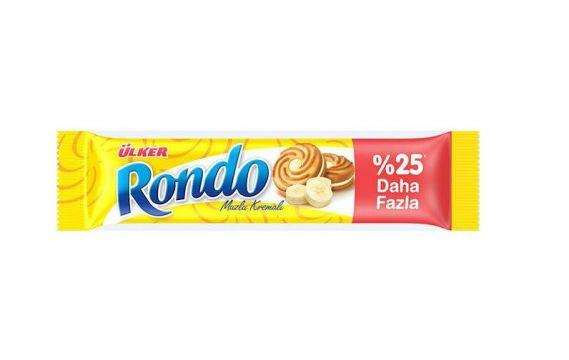 Ülker Rondo Kremalı Bisküvi Muzlu 68  gr