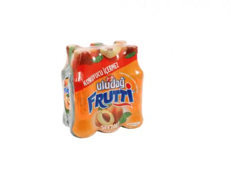 Uludağ Frutti Şeftali 200 Ml x 6 Adet