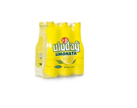 Uludağ Limonata Cam 250 Ml x 6 Adet