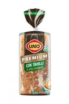 Uno Premıum Çok Tahıllı ve Siyez Buğdaylı Ekmek 350 Gr