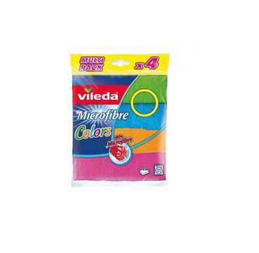 Vileda Colors Mikrofiber Bez 4 Lü