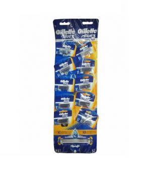 Gillette Blue 3 Kartela 10 Lu