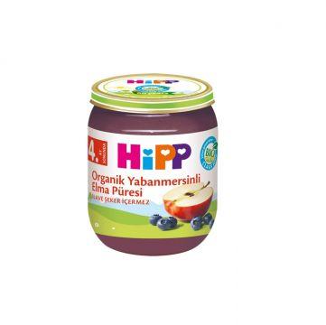 Hipp Organik Yaban Mersinli Elma Püresi 125 Gr x 6 Adet
