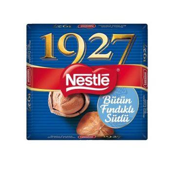 Nestle 1927 Bütün Fındıklı Bol Sütlü Çikolata 76 Gr