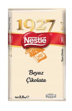 Nestle 1927 Beyaz  Kuvertür 2,5 Kg
