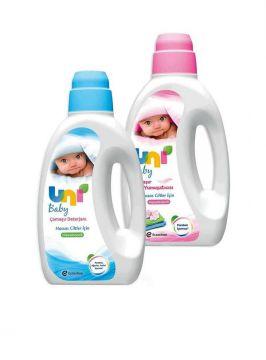 Uni Baby Sıvı Deterjan 1800 Ml + Yumuşatıcı 1800 Ml