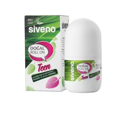 Siveno Doğal Roll On Kadınlar İçin Teen Pink 50 Ml