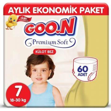 Goon Premium Külot Bebek Bezi 7 Beden 60 Adet