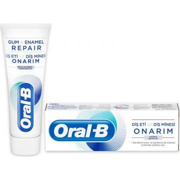 Oral-B Diş Eti ve Diş Minesi Onarım Hassas Beyazlık Diş Macunu 75 Ml