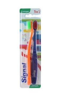 Signal Color Brush 1+1 Diş Fırçası