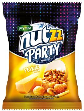 Peyman Nutzz Party Mix Peynirli 90 Gr